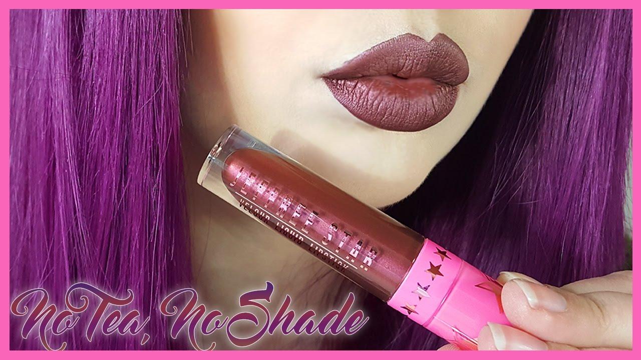 'No Tea, No Shade' Jeffree Star Cosmetics Swatch + Review ...