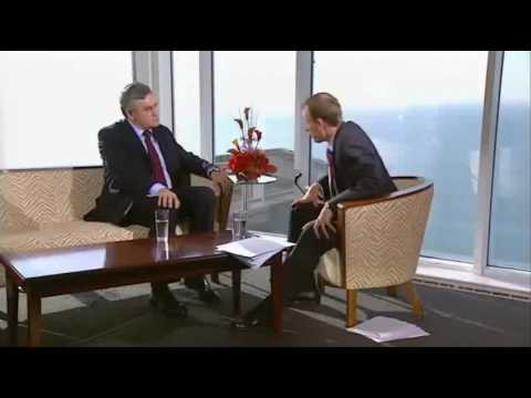 Andrew Marr asks Gordon Brown a tricky question