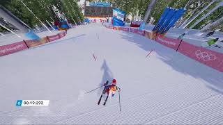 Steep Road To The Olympics - Korea -  Slalom Gameplay