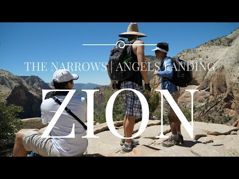Zion National Park Hiking   The Narrows   Angels Landing   4K