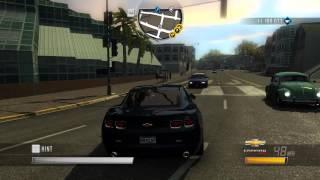 Driver: San Francisco - Chevrolet Camaro SS - Jones