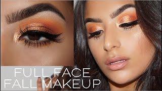 Fall Full Face Talk Thru    Makeup, Life & More    Huda Beauty Topaz Obsessions