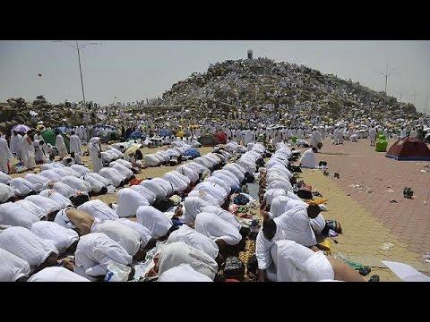 Muslim pilgrims gather at Mount Arafat for Hajj's key moment