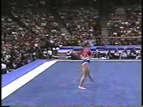 courtney kupets 2004 us olympic trials day 2 floor exercise