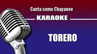 Torero, con letra - Chayanne karaoke