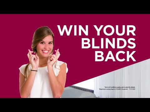 Win Your Blinds Back!