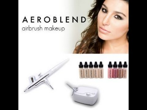 Product Demo & Tutorial Featuring Aeroblend Airbrush Makeup Kit