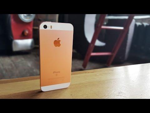 Обзор iPhone SE и сравнение с iPhone 5s