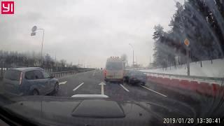 Подборка ДТП, АВАРИИ,ЧП ЗА 20 ЯНВАРЯ 2019(20.01.2019)  A selection of accidents on January 20, 2019