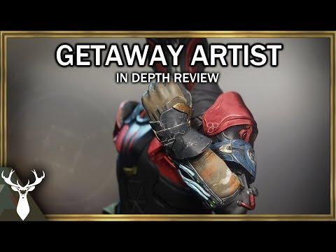 Destiny 2 - Getaway Artist (Exotic Warlock Gloves) thumbnail
