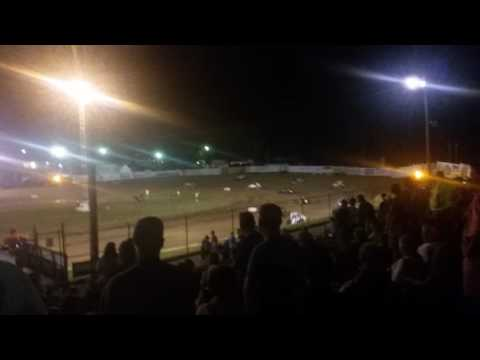 USAC Sprint Car Feature Part 1/4  Lincoln Park Speedway