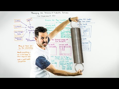 Managing the Tensions & Tradeoffs Between UX & SEO - Whiteboard Friday