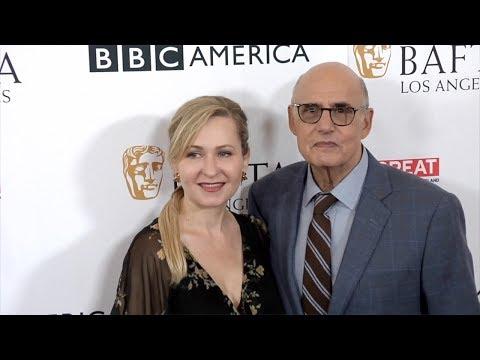 Jeffrey Tambor and Kasia Ostlun 2017 BAFTA LA TV Tea Party Red Carpet