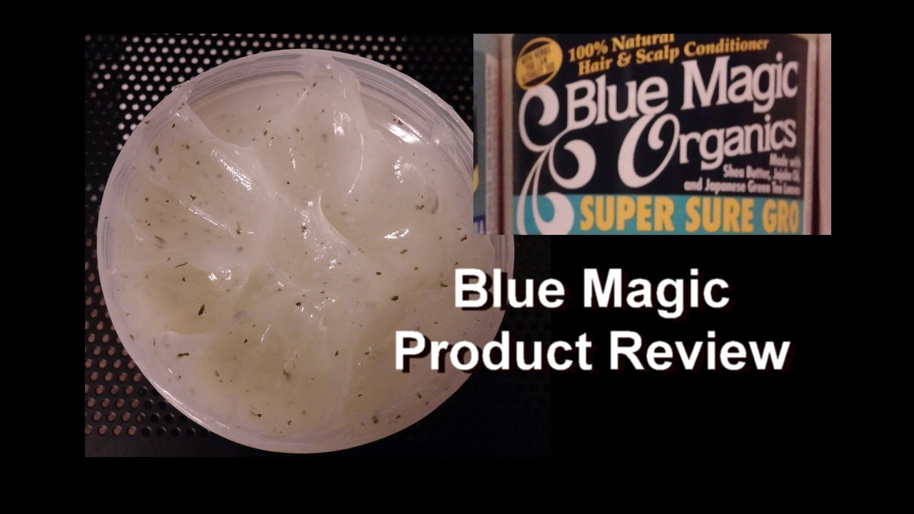 Blue Magic Organics Super Sure Gro Hair Scalp Conditioner