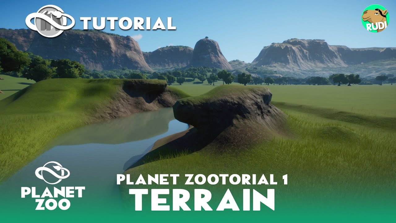 Zootorial #01 - Landscaping - Interactive Planet Zoo Tutorial (1/5)