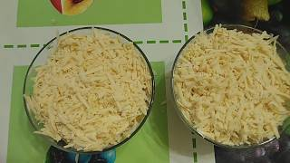 салат из КУРИЦЫ и АНАНАСА  с сыром!!!