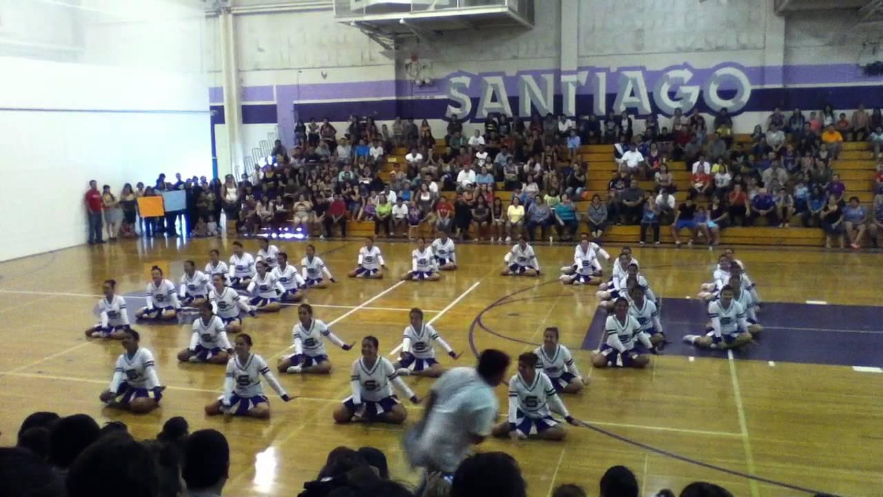 Santiago High School Drill Team Youtube