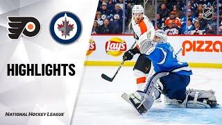 NHL Highlights | Flyers @ Jets 12/15/19
