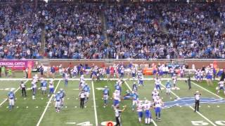 Bills beat the Lions on a 58 yd FG, 10/5/2014
