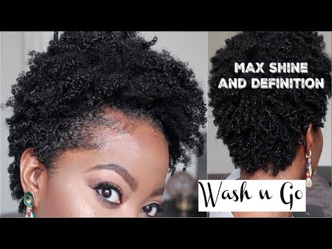 Wash N Go Type 4 Short Amp Tapered Natural Hair Max