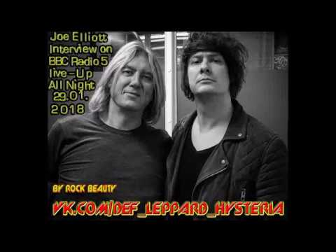 Joe Elliott(Def Leppard) on BBC Radio 5 Live