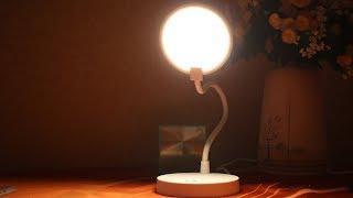 Светодиодная лампа светильник Xiaomi COOWOO U1 Led Lamp / Сяоми радует! ► Посылка из Китая / JD