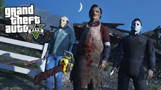 Video GTA 5 MODS HALLOWEEN SPECIAL w/ JASON, LEATHERFACE & MICHAEL MYERS!! (GTA 5 Mods) download MP3, 3GP, MP4, WEBM, AVI, FLV November 2018