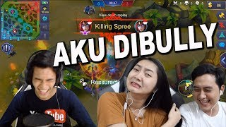 BATTLE YOUTUBERS - GUE DIBULLY PEDJUANG GAMERS - MOBILE LEGENDS INDONESIA