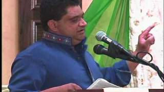 Hamid Abbas at Dallas Mushaira 2010 - حامد عباس ۔ ڈیلس مشاعرہ ۲۰۱۰