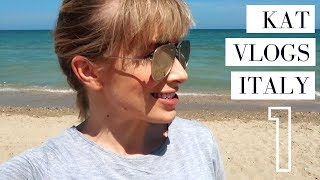 ALBA ADRIATICA ☀️Italian Summer Road Trip 🚗 Kat Vlogs Italy Ep. 1