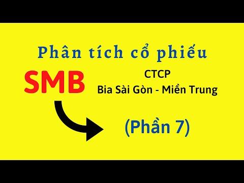 Phân tích Cổ phiếu SMB - CTCP Bia Sài Gòn - Miền Trung (Phần 7)