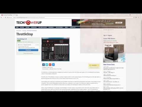 Undervolt and overclock for laptops - Lenovo Legion y520