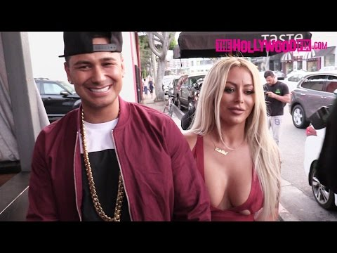 DJ Pauly D, Aubrey O'Day & Shannon Bex Attend The House Of CB Launch Party 6.14.16