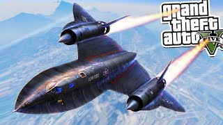 قراند 5 : سرقه اكبر طائرة في العالم