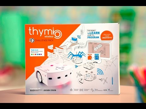 Thymio Challenge Pack - Learn how to program with Thymio