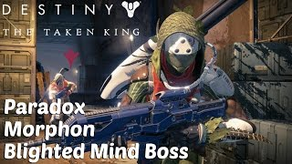 Destiny The Taken King - Paradox & Morphon, Blighted Mind Boss (Vault of Glass Solo Mission)