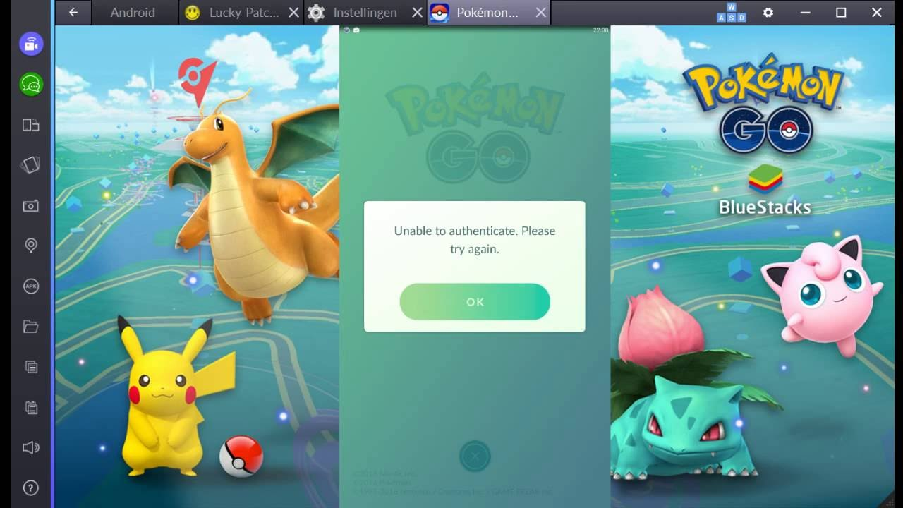 Pokemon Go Unable To Authenticate Fix (BlueStacks/Android)