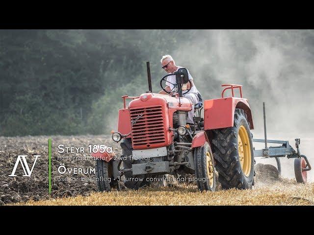 Steyr 185a + Överum 3schar Beetpflug - Ackern · ploughing