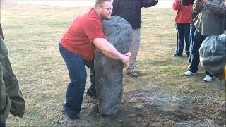 Benedikt Magnusson vs. 580lb Stone