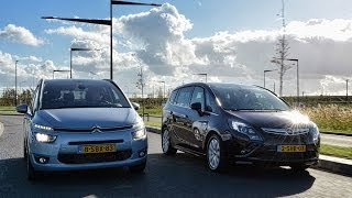Citroën Grand C4 Picasso vs. Opel Zafira Tourer