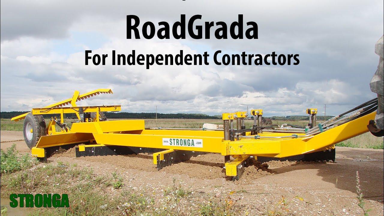Stronga RoadGrada SRG2400 tractor attachment