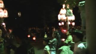 2015年7月19日 聖武天皇社前 参拝前整列.