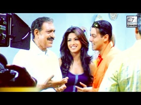 Salman Khan & Priyanka Chopra On The Sets Of 'Mujhse Shaadi Karogi' | Flashback Video