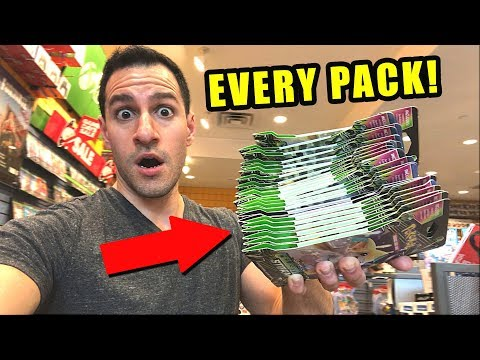 *BUYING EVERY PACK FOR CHRISTMAS!* - Opening Pokemon Cards AT GAMESTOP STORE!