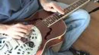 DOBRO LESSON - PAN HANDLE RAG INTRO -