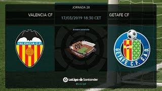 Valencia CF 0 - 0 Getafe
