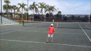 10 and Under Competitive Match with Green Ball