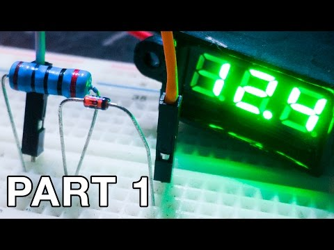 Using Zener Diodes (Part 1) - Voltage Regulator and Zener Theory