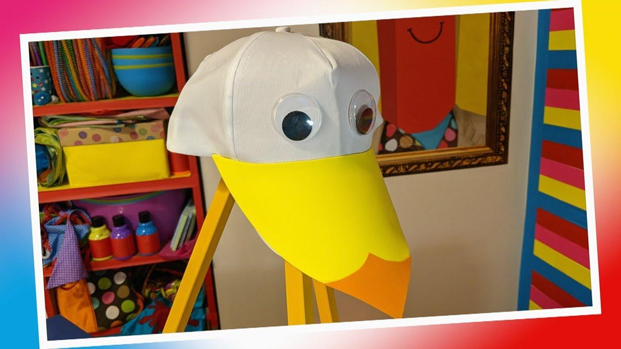 Super Seagull Hat 🐦🧢
