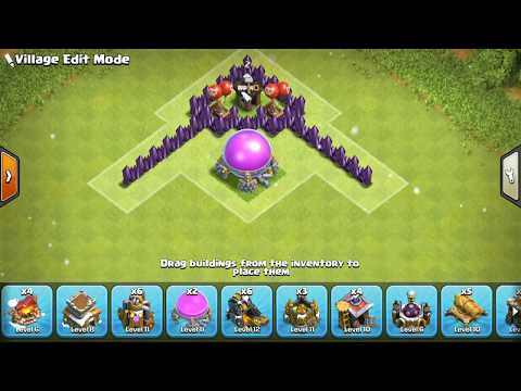 CLASH OF CLANS - TH8 CHRISTMAS TREE BASE 2016 🎄 TOWN HALL 8 CHRISTMAS SPECIAL BASE
